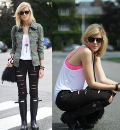My Rock Werchter Festival look!  (by Sofie V.) http://lookbook.nu/look/2107597-My-Rock-Werchter-Festival-look