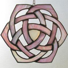 Iridescent Hexagonal Celtic Knot With by GavilanTradingPost, $32.00