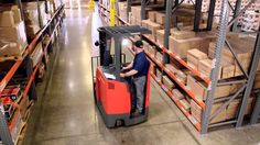 Toyota's  8-Series Stand-Up Rider in Action http://www.forkliftequipmentsales.com.au