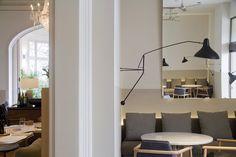 Restaurant and social area of the new Iradier Metropolitan, Barcelona, 2014 - Estudio Sandra Tarruella interioristas