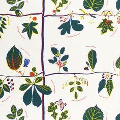 Svenskt Tenn Textil US Tree