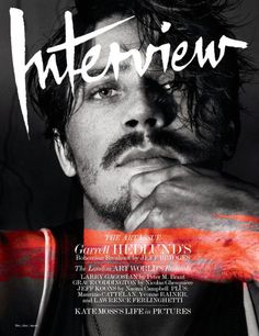 Garrett Hedlund for Interview US, January 2013
