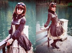 This dress is too awesome.Steampunk is timeless