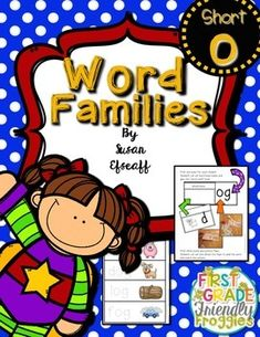 Super Word Families - Short OThis resource is perfect for Back to School Lesson Planning!  Super Word Families (-ot, -op, -ob, -og)