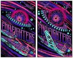 Brad Klausen Foo Fighters Vancouver & The Gorge Posters Release Details Exclusive