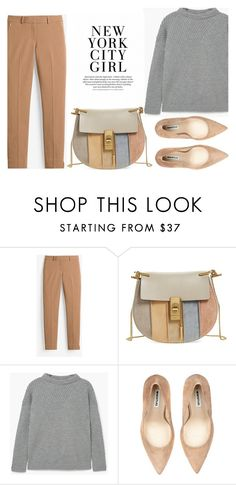 """""""19/10/16"""" by ivanainna on Polyvore featuring White House Black Market, Chloé and MANGO"""