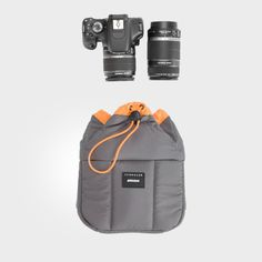Crumpler Haven (M)—perfect pouch for your camera so you can keep that fancy DSLR safe in ANY bag. (Staff Favorite!)