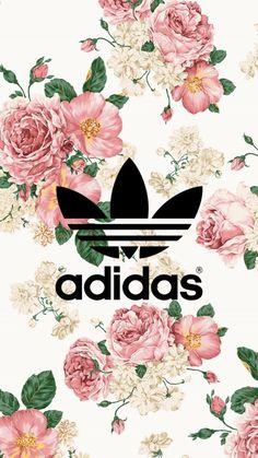 adidas Floral Adidas wallpaper - Clair Jenkins - How Can Adidas Iphone Wallpaper, Nike Wallpaper, Iphone Background Wallpaper, Aesthetic Iphone Wallpaper, Screen Wallpaper, Wallpapers Tumblr, Cute Wallpapers, Wallpaper Wallpapers, Iphone Wallpapers