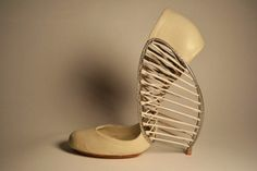 Woven high heels, Marla Marchant, LTVs, Lancia TrendVisions, shoes