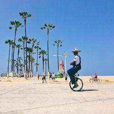 "Venice Beach Marina del Rey - ""Keep Venice weird, one wheel at a time."""
