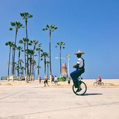 "Venice Beach Marina del Rey - ""Keep Venice weird, one wheel at a time."""
