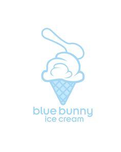 Blue Bunny Ice Cream LOGO by Adrian Ramirez