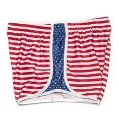 Kappa Kappa Gamma Shorts in Red, White and Blue by Krass & Co.