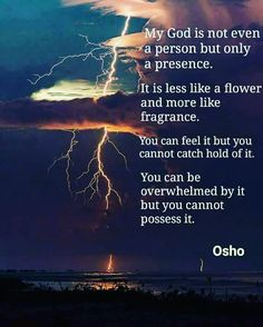 """Witnessing is such a sharp sword --- it cuts thoughts, feelings, emotions, in a single blow. ~Osho."""