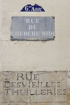 rue du Cherche-Midi - Paris 6e&15e