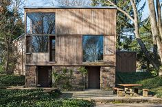 The 1967 Fisher House in Hatboro, Pennsylvania, one of just nine private homes designed by famed American architect Louis Kahn, belonged to original owners Doris and Norman Fisher until about three...