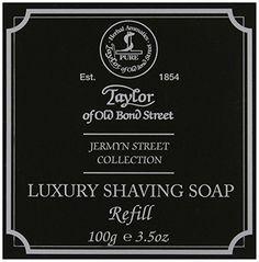 Taylor of Old Bond Street Jermyn Street Shaving Soap Refill 100g Taylor of Old Bond Street