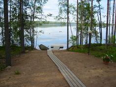 Church In Toivakka In Middle Finland There Are Some Modern And