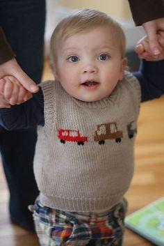 Ravelry: Auto Vest pattern by Hannah Fettig