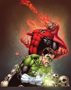Green Lantern vs Atrocitus