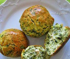 ıspanaklı roll ekmek