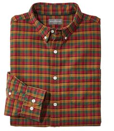 Find the best Men's Signature Washed Oxford Cloth Shirt, Plaid at L. Our high quality Men's Shirts are thoughtfully designed and built to last season after season. Plus Size Men, Casual Shirts, Men's Shirts, Work Wear, Oxford, Men Casual, Plaid, Shirt Dress, Mens Tops