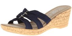 These are a great summer sandal! Palmero Wedge Sandal for Women - A Thrifty Mom