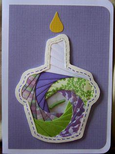Iris Folding Birthday Card