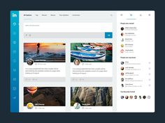 Linkedin Dash by Dimple Bhavsar for Agile Infoways