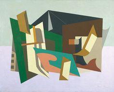 New York Mural Stuart Davis | Stuart Davis , Egg Beater No. 1 , 1927. Oil on canvas, 29 1/8 × 36 in ...
