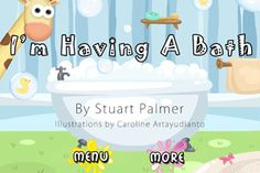 Story Stars - An interactive story App about animals in the bath.
