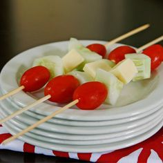 Recipe for Salad on a Stick