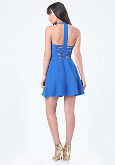 Back Crisscross Dress