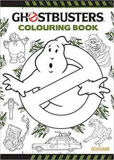 Buy Ghostbusters Colouring Book From WHSmith Today