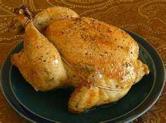 Crockpot Roast Chicken (3-4 lb chicken, Olive oil, Seasoned salt or lemon pepper or garlic salt, etc.)