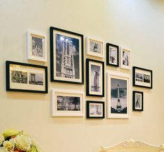 Six original ideas for hanging picture frames athome