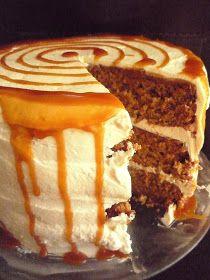Caramel-Apple Cake 4 - beingabear.com