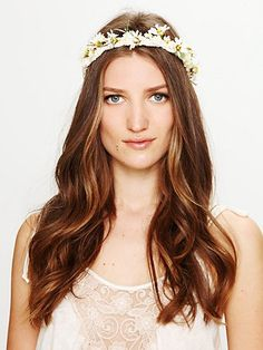 Flower Braid Halo from Free People