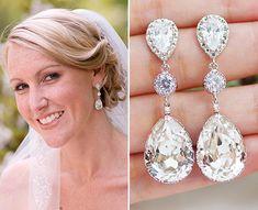weddings jewelry earrings bridal earrings earringsnation