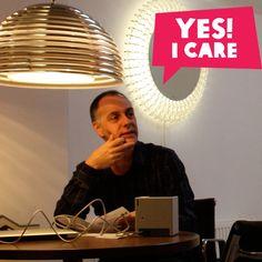 "Bram zegt: ""Yes, I Care!"""