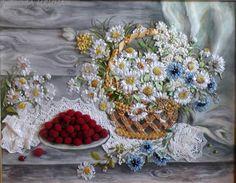 (1) Gallery.ru / Фото #61 - моя вышивка лентами - irina-zubkova