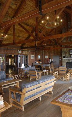 Great Room  Big Meadows Lodge  Shenandoah National Park