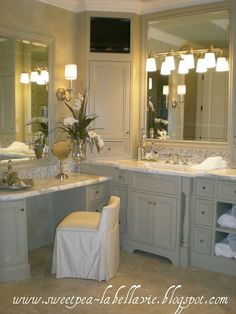 84 Vanity With Makeup Seat Ideas Bathrooms Remodel Bathroom Design Vanity