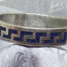 Lapis Lazuli Sterling Bracelet