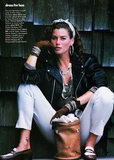 Vogue (US) October 1991 | Carre Otis