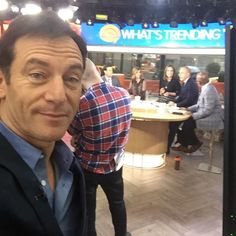 Waiting to go on @todayshow. 2 hours sleep and 2 inches of makeup. Should even out. #DIGDeeper #tw pic.twitter.com/p58rMbfXKY