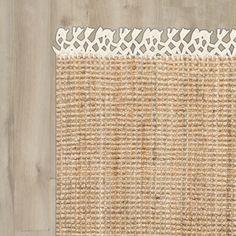 Lyndsey Hand-Woven Brown Area Rug