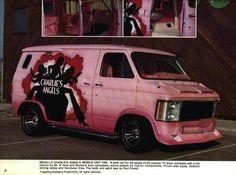 Charle's Angels' Van