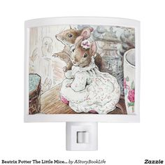 Beatrix Potter The Little Mice Came Out Again Night Light