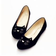 Womens Flats Shoes 2015 Plus Size EU35 EU41 Woman Flat 2015 espadrilles Lovely Cat Face Flats Casual Ladies Shoes, zapatos mujer-in Flats from Shoes on Aliexpress.com | Alibaba Group